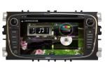 Штатная автомагнитола 1 ггц проц 1 гб RAM на Android 4 для Ford Focus 2 и Mondeo (чёрная)
