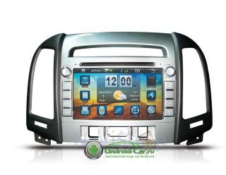 Штатная автомагнитола на Android для Hyundai Santa Fe Old (2008-2012). Navipilot Droid