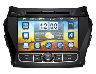 Штатная автомагнитола на Android для Hyundai Santa Fe New IX45 2013