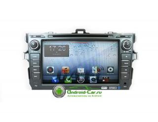 Dashlinq Ca-Fi. Штатная автомагнитола на Android для Toyota Corolla