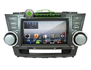 Dashlinq Ca-Fi. Штатная автомагнитола на Android для Toyota Highlander