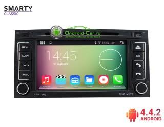 SMARTY Classic. Штатная автомагнитола на Android 4.4.2 для Volkswagen Touareg Old (2002—2010), HD экран 1024x600, 1.6 gHz проц, 1GB RAM DDR3