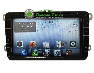 Dashlinq Ca-Fi. Штатная автомагнитола на Android для Volkswagen 8 дюйм. экран