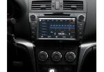 Ca-Fi. Штатная автомагнитола на Android для Mazda 6 New Рестайлинг (чёрный лак), 1gHz проц, 512 RAM, емкостной экран с Мультитачем