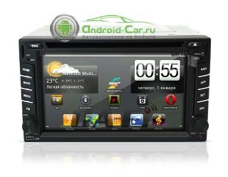 Универсальное 2DIN штатное головное устройство 1ghz, 512ram, Android 2.3. Ca-Fi 621000