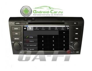 Ca-Fi. Штатное головное устройство на Android для Mazda 3 Old (с 2005-2010 г.)