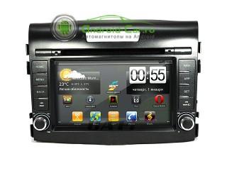 Штатное головное устройство на Android для Honda CR-V New 2012. Ca-Fi.