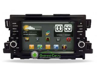 Ca-Fi. Штатное головное устройство на Android для Mazda CX-5