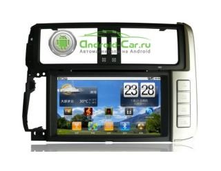 Штатное головное устройство на Android для Toyota Land Cruiser Prado 150. Ca-Fi.